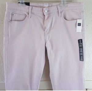 Gap the coupe girlfriend  lavender jeans size 12